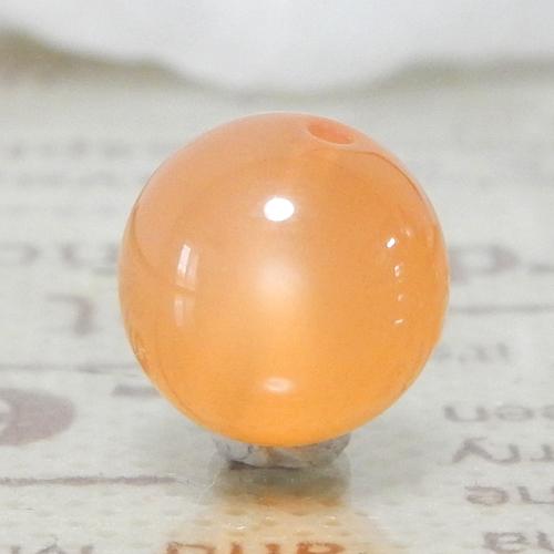 オレンジムーンストーン AAA ラウンド 10mm 014