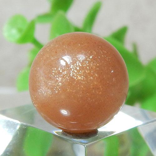 オレンジムーンストーン AAA- ラウンド 約13.5mm程度 012-0