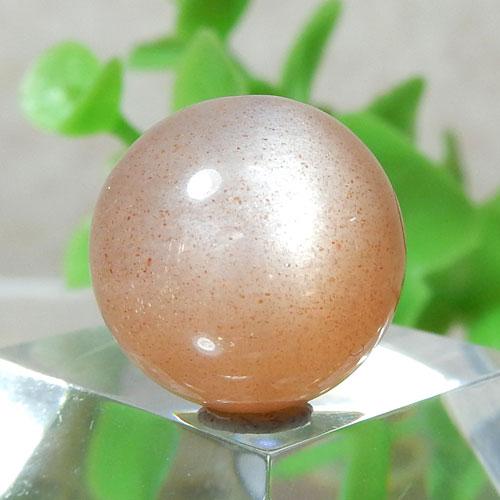 オレンジムーンストーン AAA- ラウンド 約13.5mm程度 012