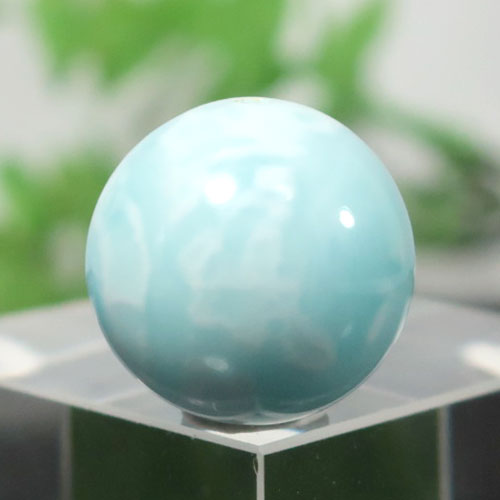 ブルーアラゴナイト AAA- ラウンド 約14.4mm程度 003-0