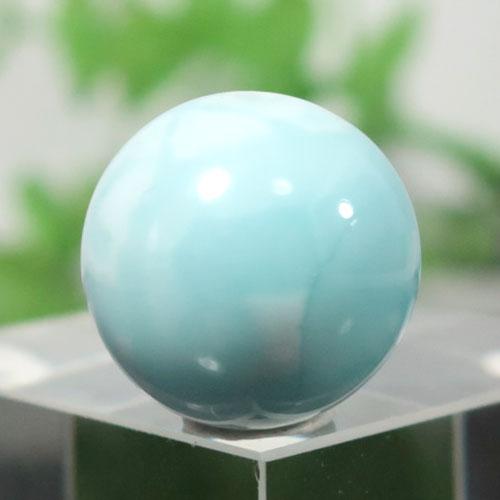 ブルーアラゴナイト AAA- ラウンド 約14.4mm程度 003