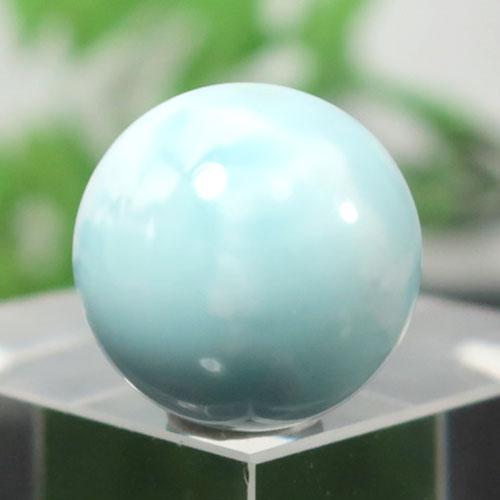 ブルーアラゴナイト AAA- ラウンド 約14.5mm程度 004-0