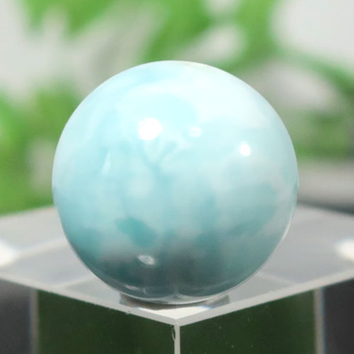 ブルーアラゴナイト AAA- ラウンド 約14.5mm程度 004