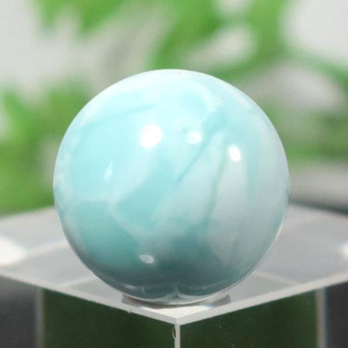 ブルーアラゴナイト AAA- ラウンド 約14.2mm程度 005-0