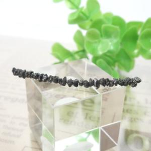ブラックダイヤモンド 原石チップ  001