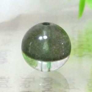 グリーンガーデンファントムクォーツ AAA ラウンド 約9mm 002