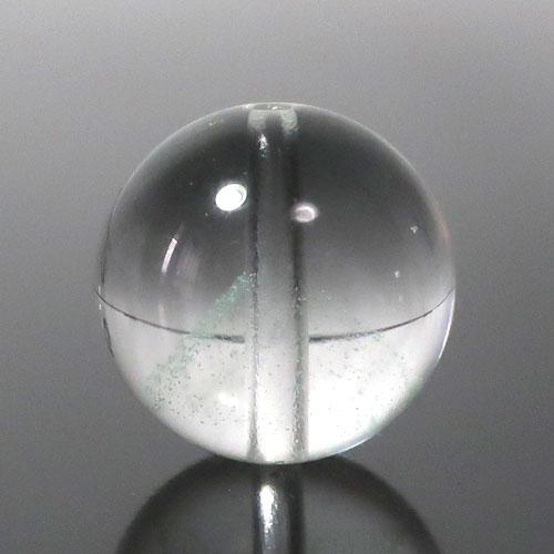マダガスカル産グリーンファントムクォーツ AAA- ラウンド 約10mm 102-1