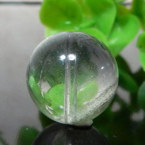 グリーンファントムクォーツ AAA- ラウンド 約15mm 003