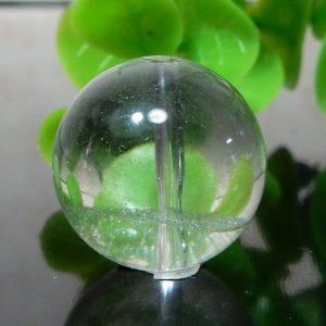 グリーンファントムクォーツ AAA- ラウンド 約15.5mm 007