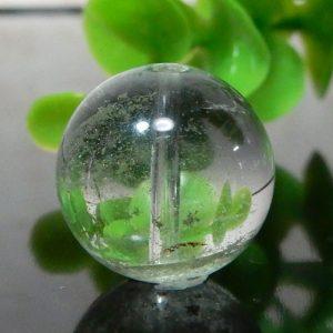 グリーンファントムクォーツ AAA- ラウンド 約15.5mm 008(BS197RDRD15AAAM008)
