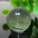 グリーンファントムクォーツ AAA- ラウンド 約15.5mm 010
