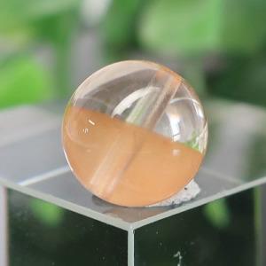 オレンジアンフィボールインクォーツ AAA- ラウンド 約9.5mm 024