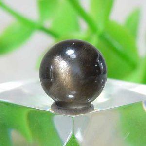 ブラックサンストーン AAA- ラウンド 約7.7mm程度 003