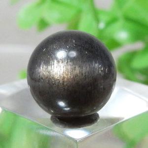 ブラックサンムーンストーン AAA ラウンド 10mm 106