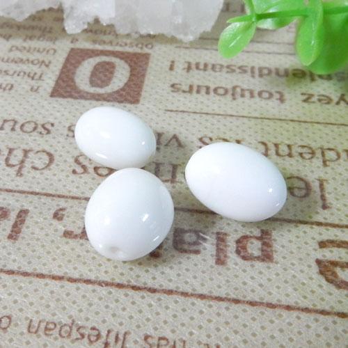 ホワイトオニキス AAA- タンブル 約9×13mm程度