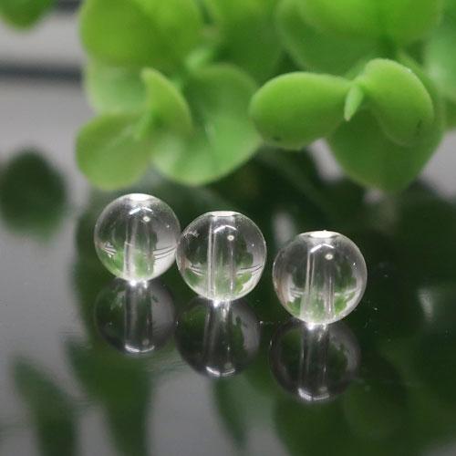 ヒマラヤ水晶(インド・クル産) AAA- ラウンド 約6mm-0