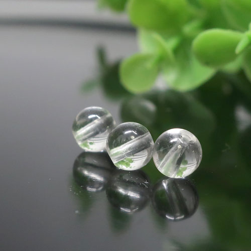 ヒマラヤ水晶(インド・クル産) AAA- ラウンド 約6mm-1