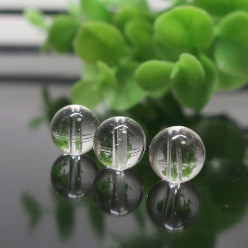 ヒマラヤ水晶(インド・クル産) AAA- ラウンド 約8mm-0