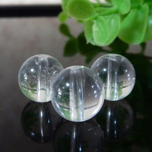ヒマラヤ水晶(インド・クル産) AAA- ラウンド 10mm