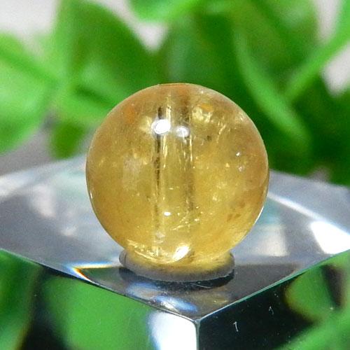 イエローベリル(ヘリオドール) AAA- ラウンド 約7.6mm 012