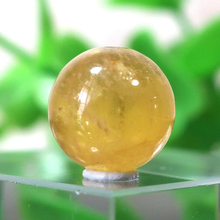 イエローベリル(ヘリオドール) AAA- ラウンド 約9.4mm 022-0