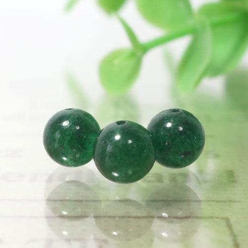 インド産グリーンアベンチュリン AAA- ラウンド 6mm