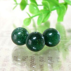 インド産グリーンアベンチュリン AAA- ラウンド 10mm