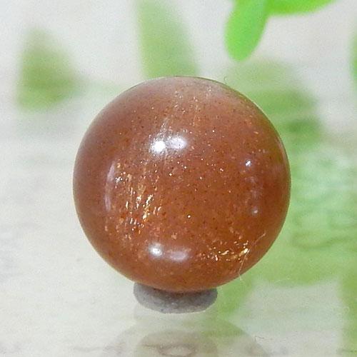 ショコラカラーサンムーンストーン AAA- ラウンド 10mm 001-0