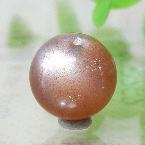 ショコラカラーサンムーンストーン AAA- ラウンド 10mm 001