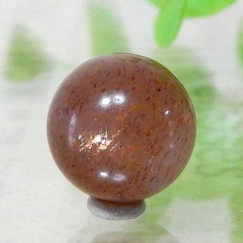 ショコラカラーサンムーンストーン AAA- ラウンド 10mm 002-0