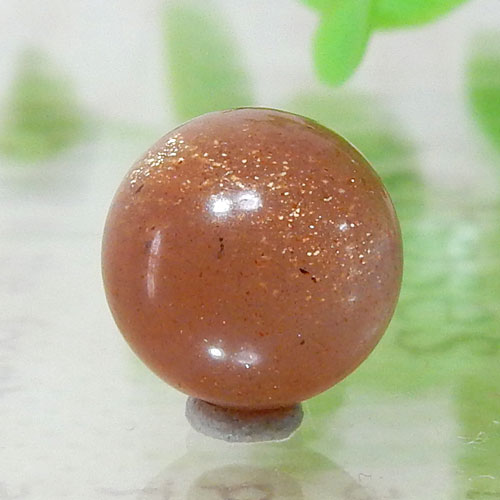 ショコラカラーサンムーンストーン AAA- ラウンド 10mm 003-0