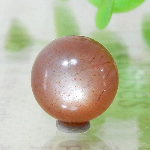 ショコラカラーサンムーンストーン AAA- ラウンド 10mm 003