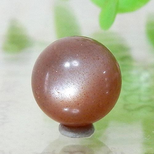 ショコラカラーサンムーンストーン AAA- ラウンド 10mm 004