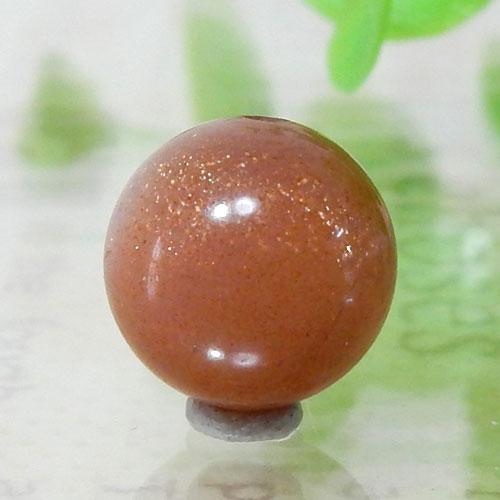 ショコラカラーサンムーンストーン AAA- ラウンド 10mm 005-0