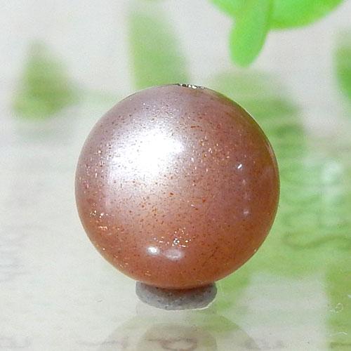 ショコラカラーサンムーンストーン AAA- ラウンド 10mm 005
