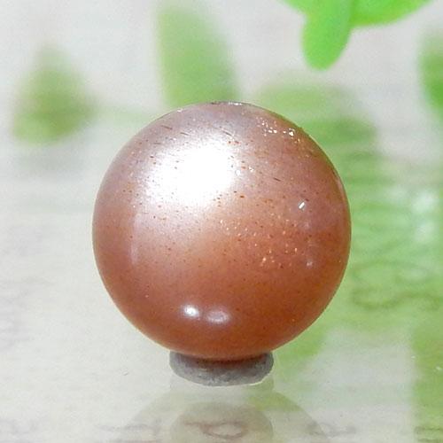 ショコラカラーサンムーンストーン AAA- ラウンド 10mm 007