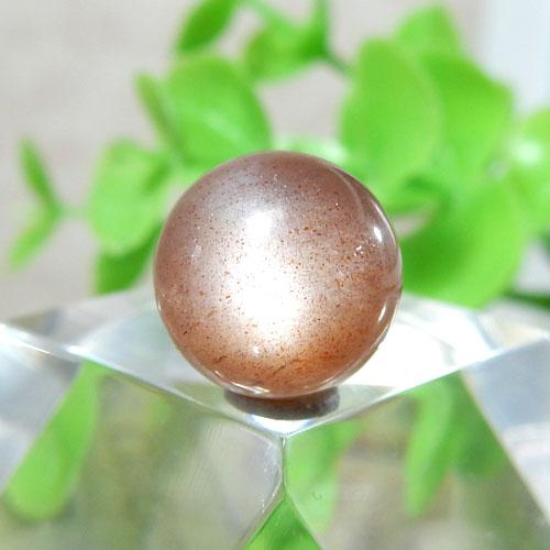 ショコラカラーサンムーンストーン AAA- ラウンド 10mm 009