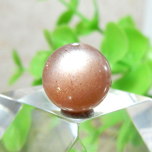 ショコラカラーサンムーンストーン AAA- ラウンド 10mm 012