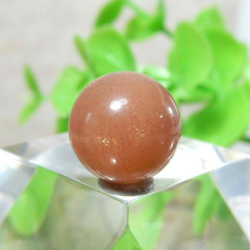 ショコラカラーサンムーンストーン AAA- ラウンド 10mm 013-0