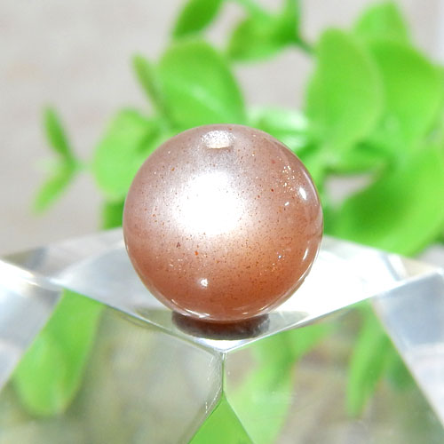ショコラカラーサンムーンストーン AAA- ラウンド 10mm 013