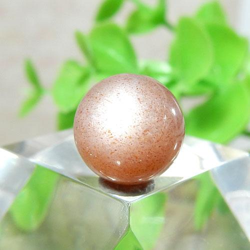 ショコラカラーサンムーンストーン AAA- ラウンド 10mm 015