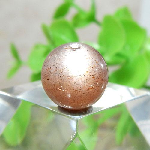 ショコラカラーサンムーンストーン AAA- ラウンド 10mm 018