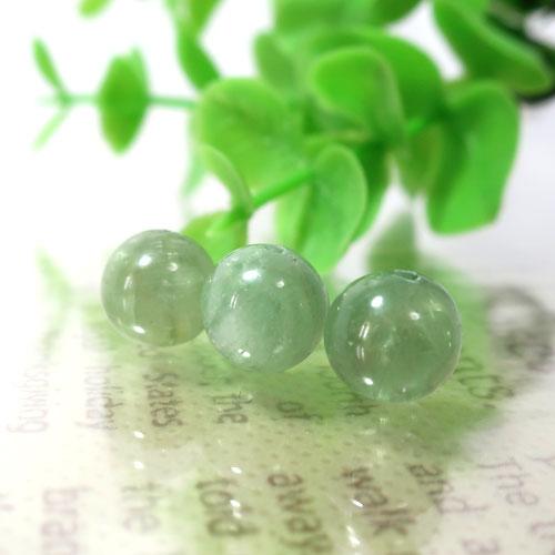 グリーンカイヤナイト AAA- ラウンド 約8.3mm程度-0