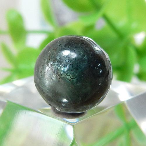 グリーンブルーカイヤナイト AA++ ラウンド 10.5mm 002