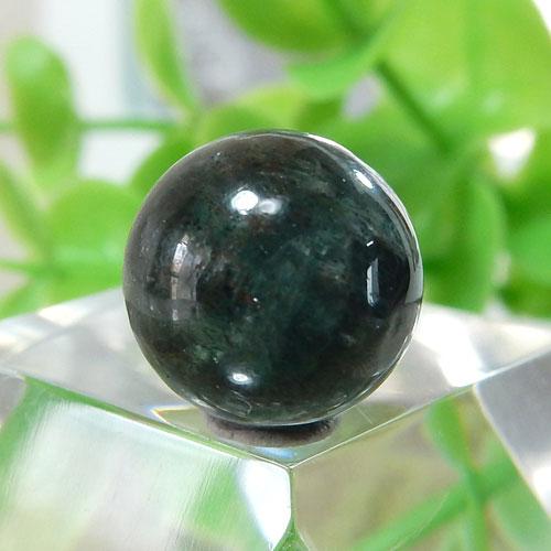 グリーンブルーカイヤナイト AA++ ラウンド 10.5mm 003-0