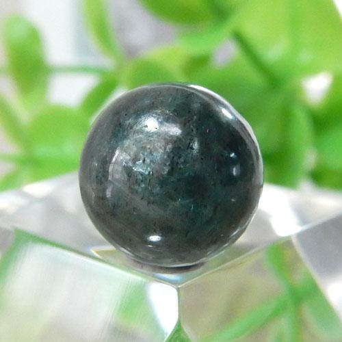 グリーンブルーカイヤナイト AA++ ラウンド 10.5mm 004