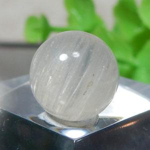 ホワイトルチルクォーツ AAA- ラウンド 約9.5mm程度 108(BS418RD108)