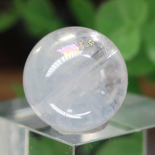 エンジェルラダーミルキークォーツ AAA- ラウンド 約15.7mm 021-0
