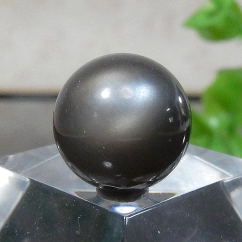 ブラックムーンストーン AAA ラウンド 12mm 009