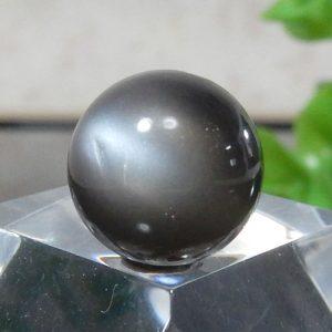 ブラックムーンストーン AAA ラウンド 12mm 015